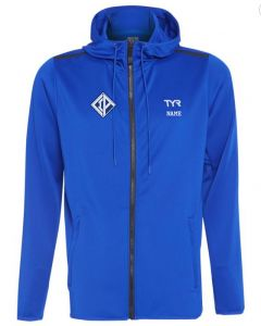 CIA YOUTH TYR Team Zip Hoodie w/ Logo