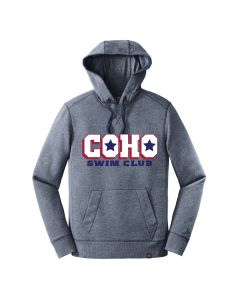COHO Men's New Era Hoodie with Tackle Logo